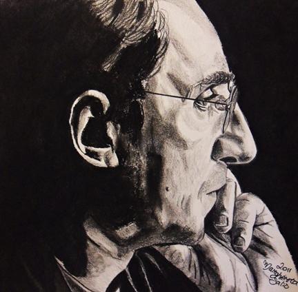 Ritratto di Franco Battiato | GAi - Giovani Artisti italiani
